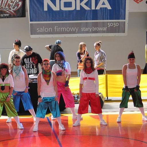Szkoła Tańca Tychy, hip hop, street dance, Erka
