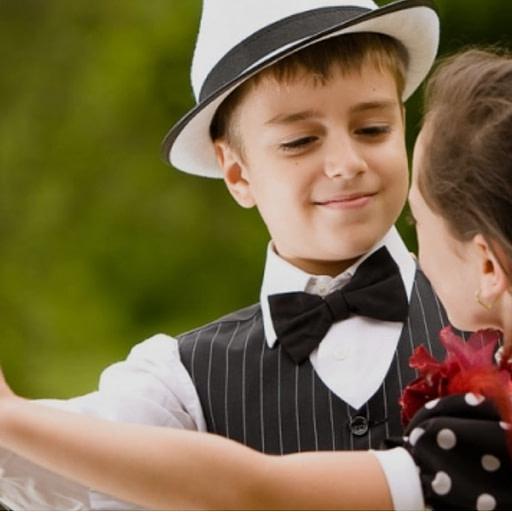 Taniec dla dzieci - dziecięca para taneczna