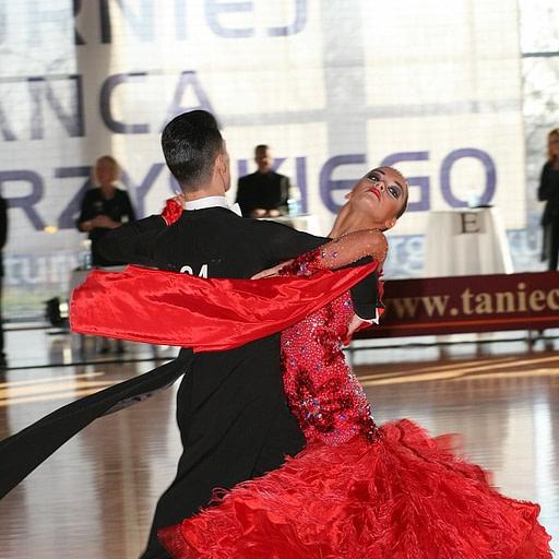 Taniec towarzyski - para taneczna