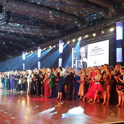 Sędzia sportowego tańca towarzyskiego Dariusz Kurzeja