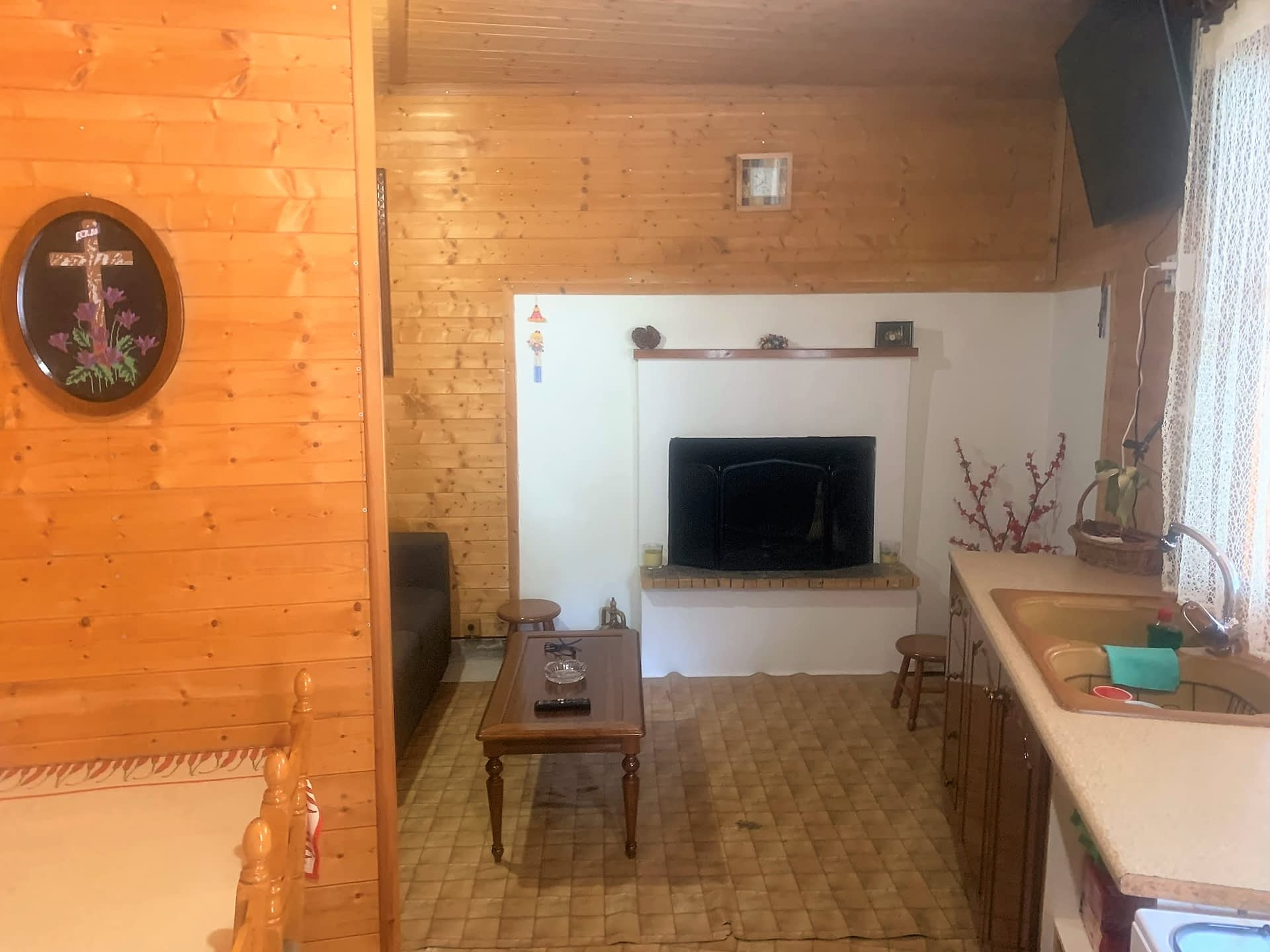 Interior of house for sale in Ithaca Greece, Perachori