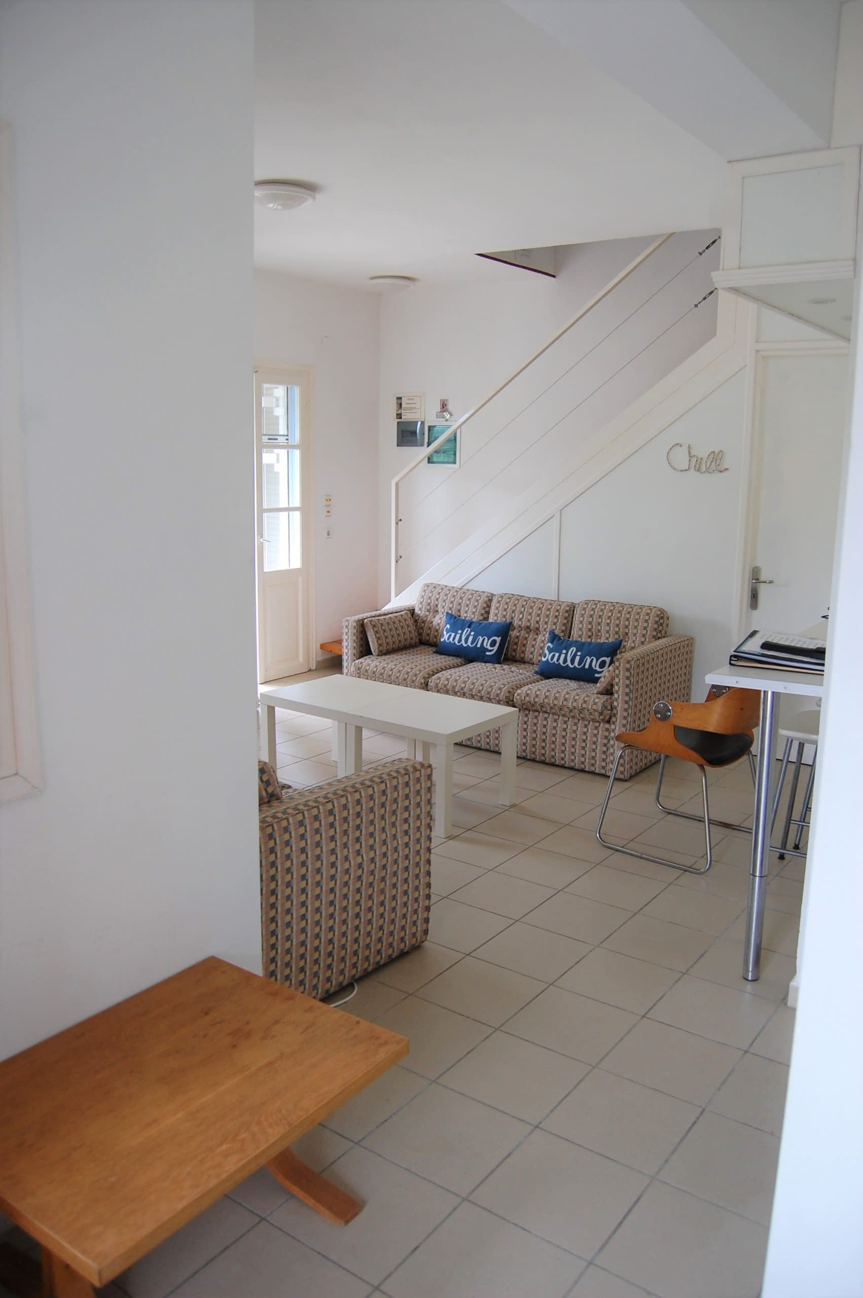 Interior of house to rent in Ithaca Greece, Stavros