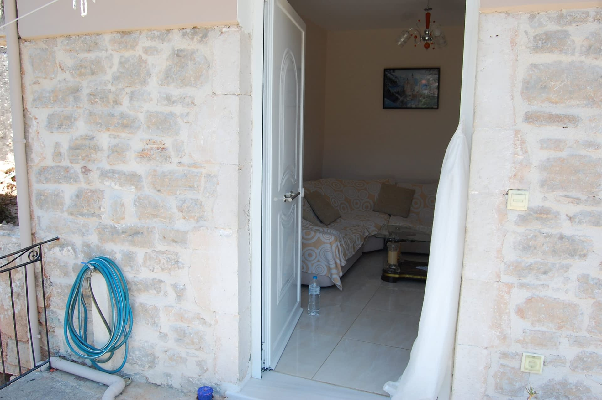 Entrance of house for sale in Ithaca Greece Vathi