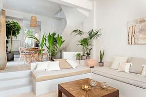 Living room of house for sale in Ithaca Greece, Ag. Saranda