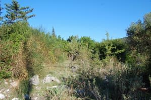 Landscape terrain of land for sale Ithaca Greece Lahos