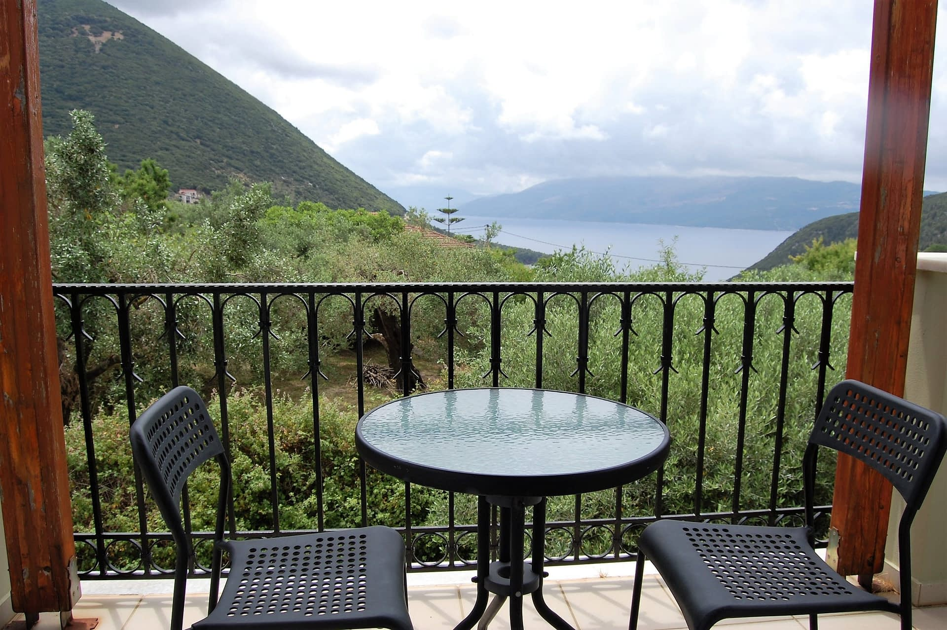 View of house to rent in Ithaca Greece, Stavros