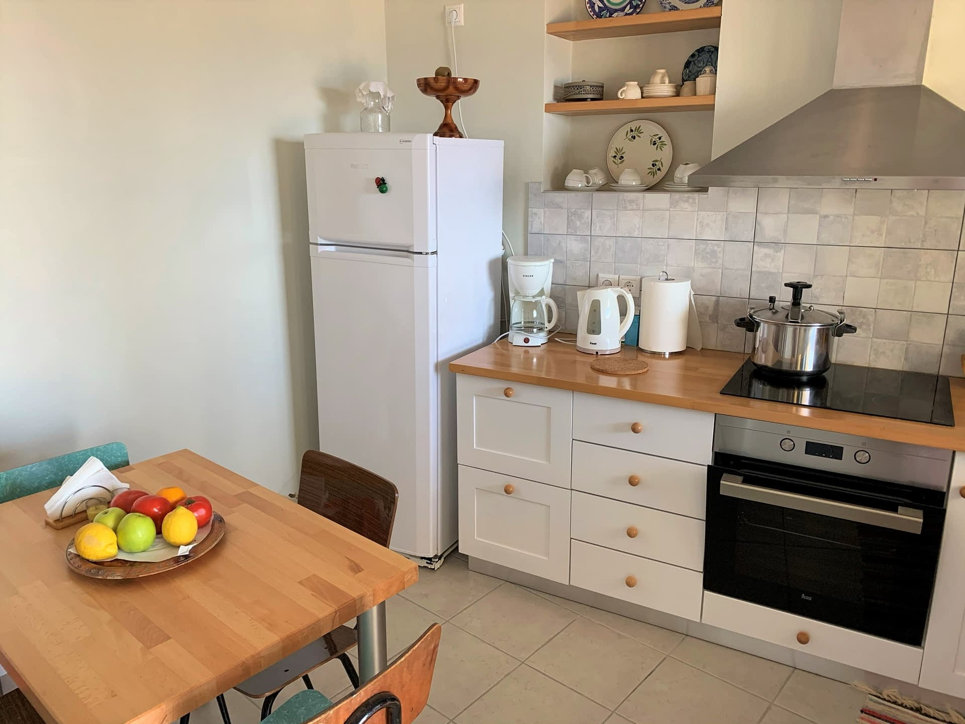 Kitchen of house to rent in Ithaca Greece, Kioni