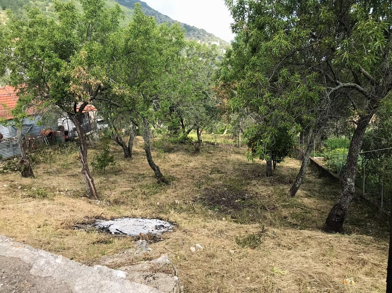 Cleared terrain of land for sale in Ithaca Greece, Perachori