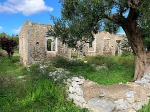 Stone ruin for sale in Ithaca Greece, Lahos