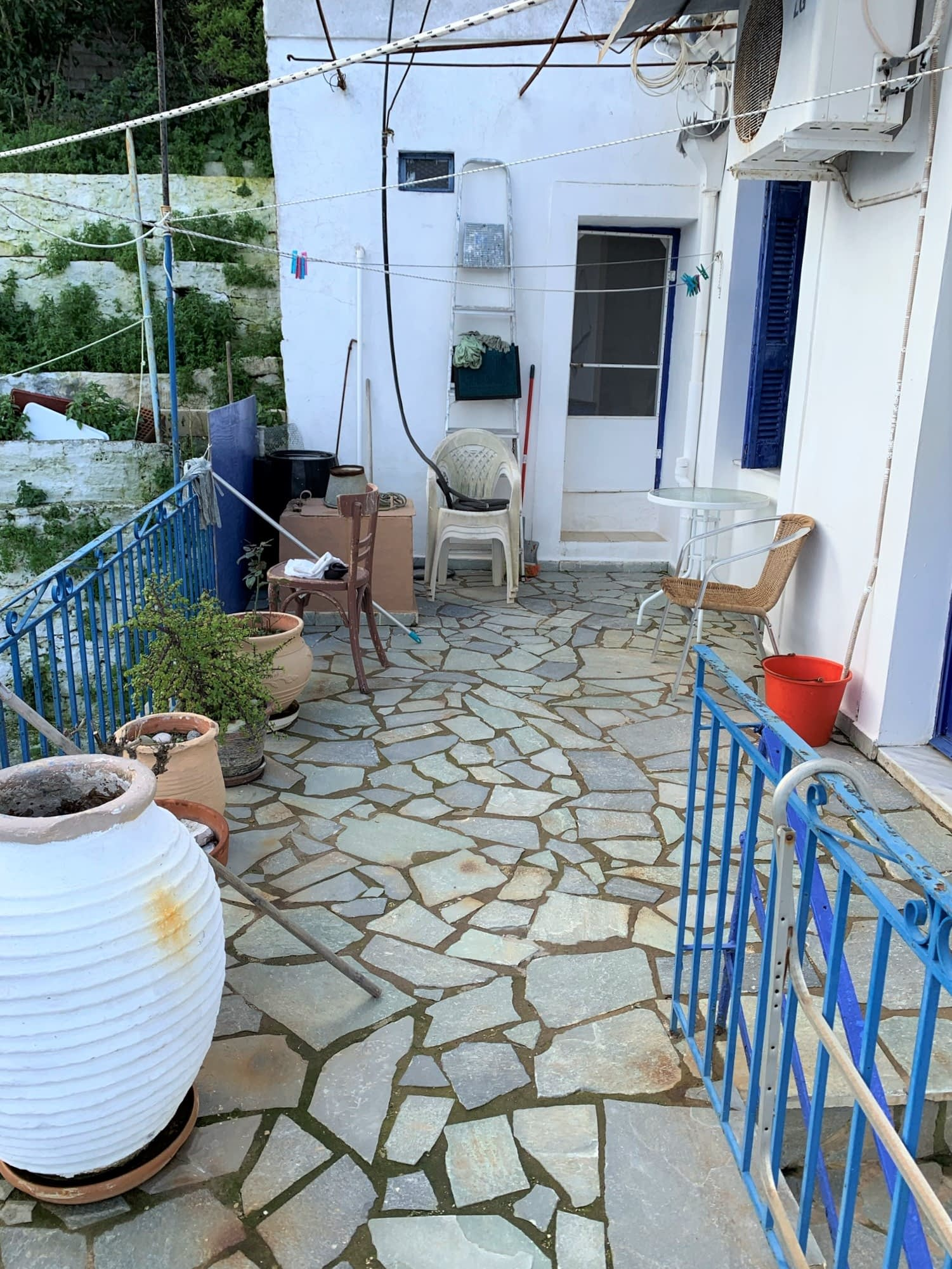 Entrance of house for sale in Ithaca Greece, Vathi