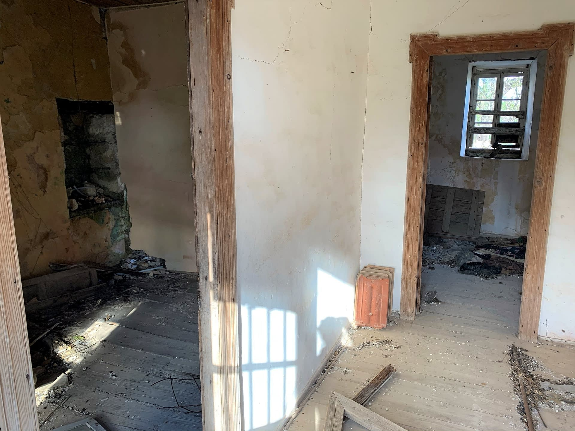 Interior of house for sale in Ithaca Greece Kolleri