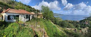 Panoramic view of house for sale in ithaca Greece, Rachi
