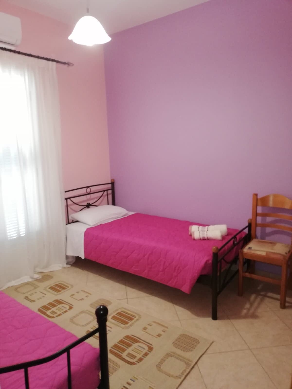 Twin bedroom of property for sale in Ithaca Greece Vathi