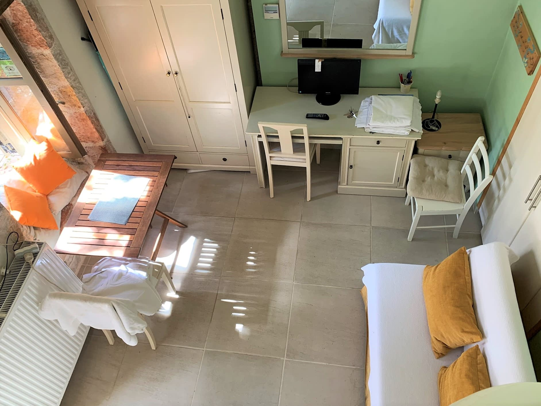 Interior of house of apartment complex for sale in Ithaca Greece, Vathi