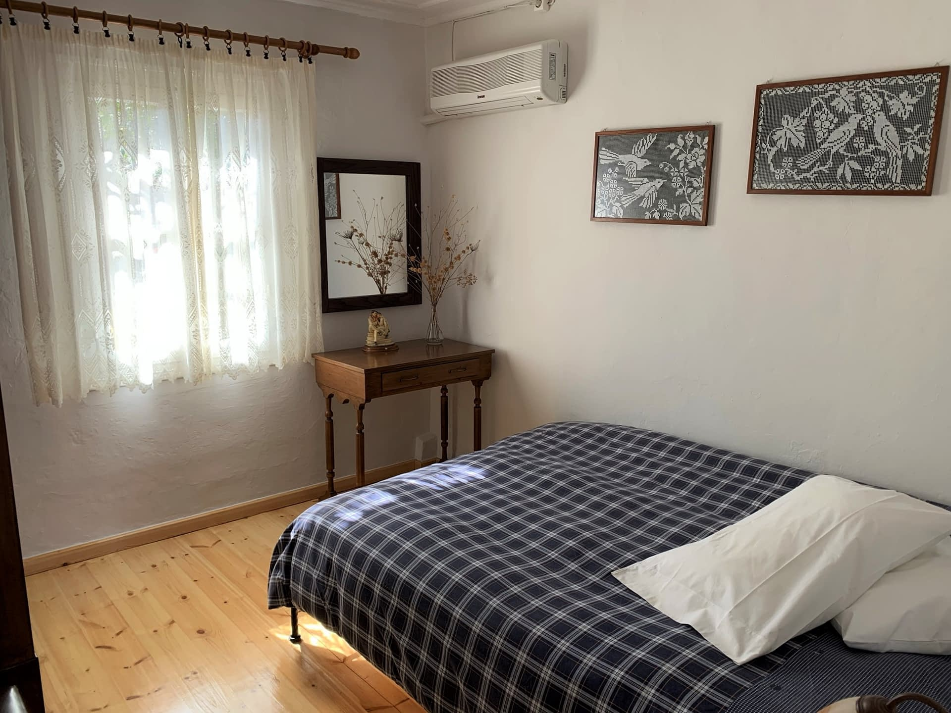Bedroom of house to rent in Ithaca Greece, Kioni