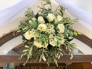 Flower arrangement, wedding Ithaca Greece
