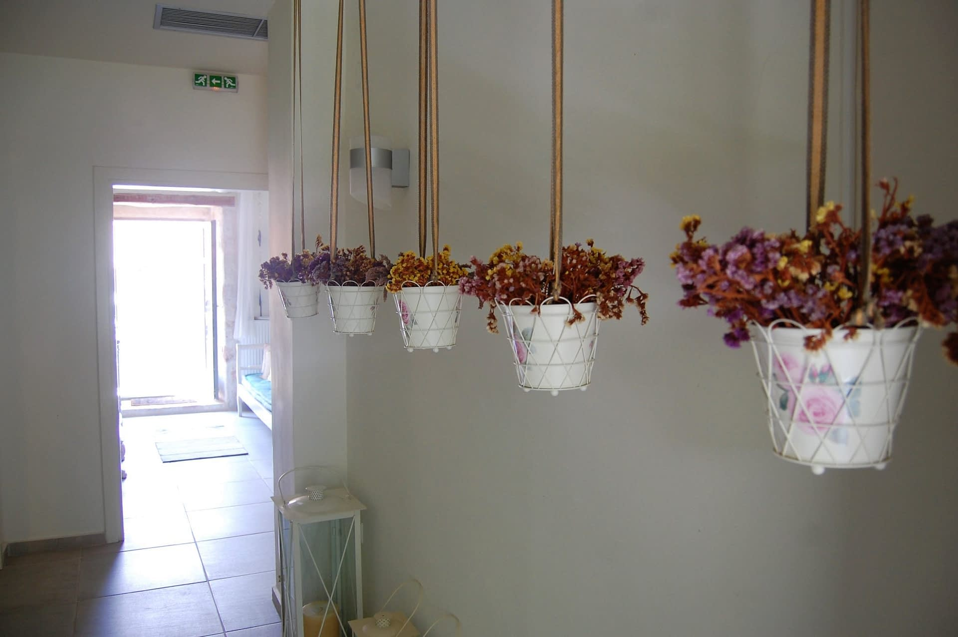 Interior decor of boutique hotel for sale on Ithaca Greece Vathi