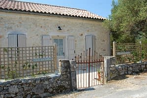 Exterior of house for sale in Ithaca Greece, Lahos