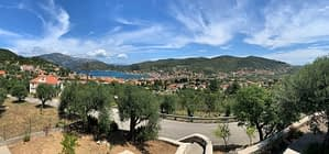 Views from the villa for Rent on Ithaca Greece, Vathi