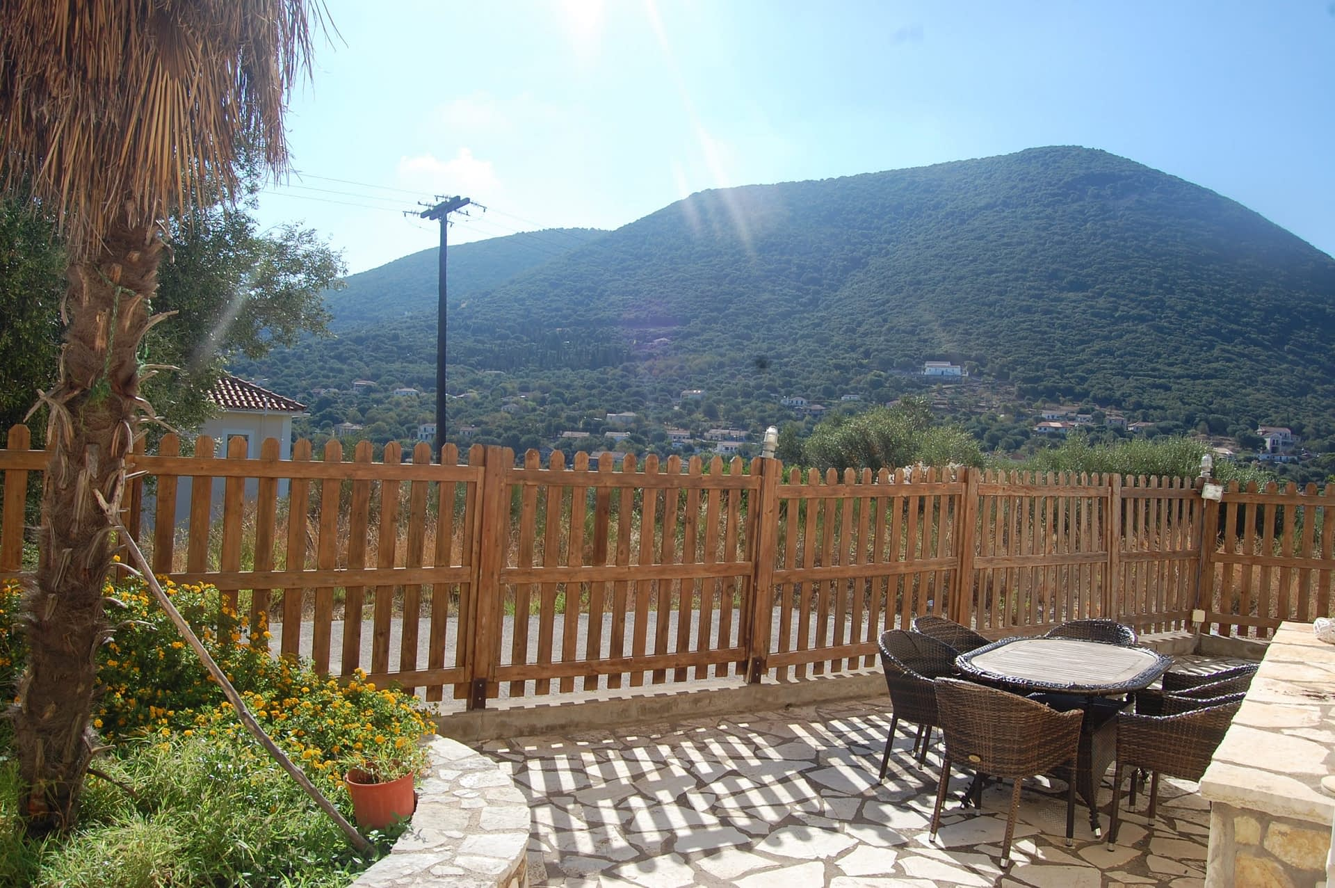 View from Iriana Village for rent in Ithaca Greece, Stavros