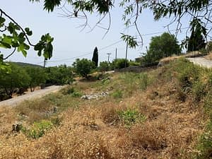 Landscape of land for sale Ithaca Greece,Anoghi