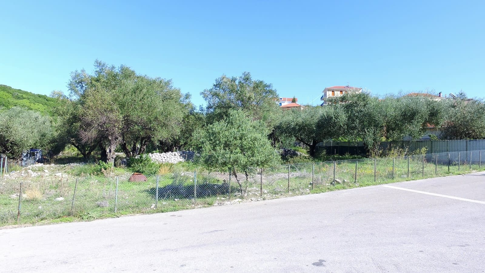Terrain of land for sale Ithaca Greece Kioni