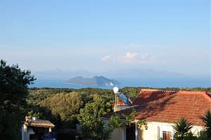 View from land for sale Ithaca Greece,Anoghi