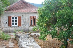 Exterior of house for sale Ithaca Greece, Vathi