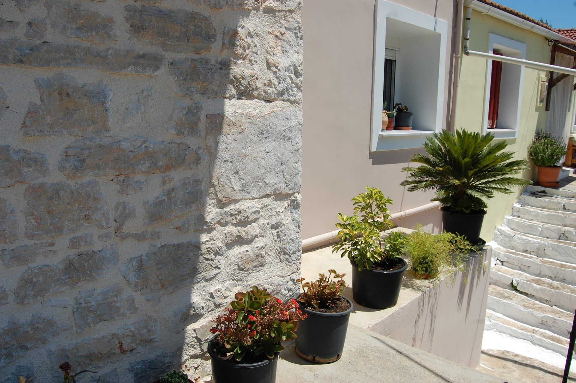 Exterior of house for sale in Ithaca Greece Vathi