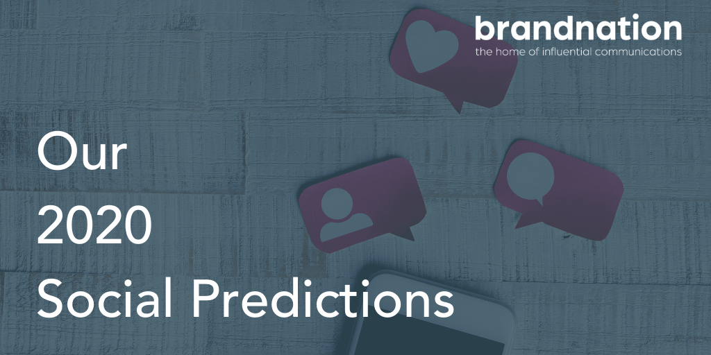 Social media predictions 2020